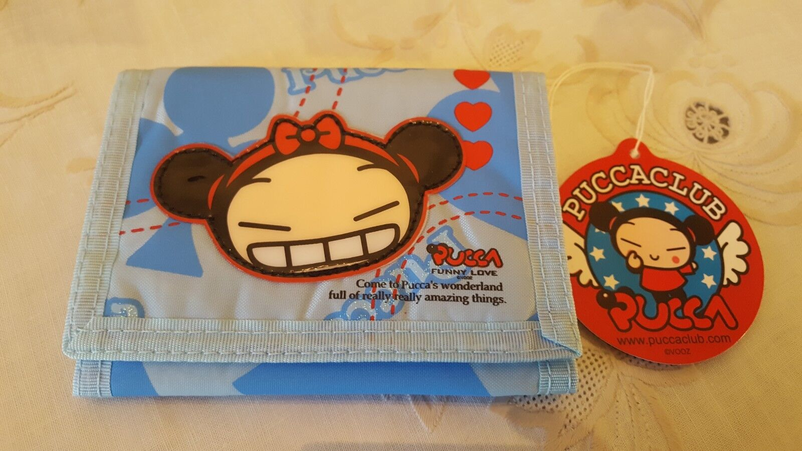PUCCA  WALLET w ZIPPER  CORD UNUSED JAPANESE ANIME