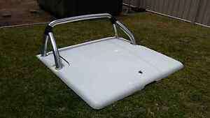 Nissan Navara D40 hard lid with sports bar white Mount Barker Plantagenet Area Preview