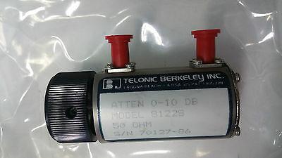 Telonic Berkeley 8122s Rf Attenuator