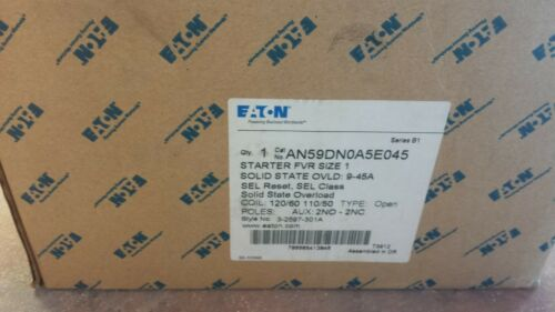EATON AN59DN0A5E045 NEMA Magnetic Motor Starter