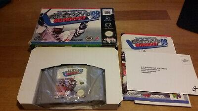 Wayne Gretzky's 3D Hockey 98 Nintendo 64 N64 Boxed CIB OVP PAL