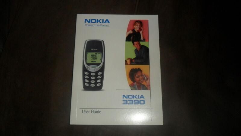 NOKIA 3390 PHONE USER GUIDE