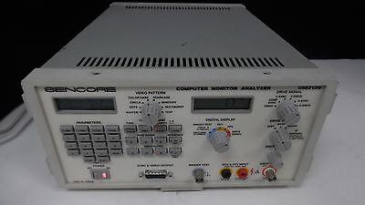 Sencore Computer Monitpor Analyzer Cm2125