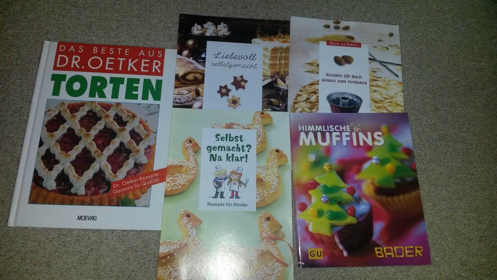 Dr. Oetker Backbuch Torten und Backbuch himmlische Muffins  inkl. Rezepthefte