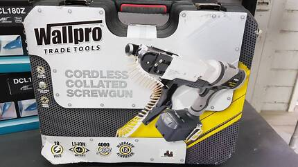 Brand New Collated Screwgun Wallpro - $499