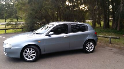 2004 Alfa Romeo 147 2.0 TSPARK 4 door hatch Cessnock Cessnock Area Preview