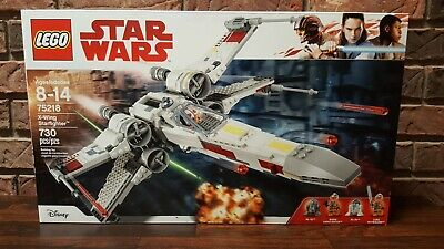 LEGO 75218 Star Wars X-Wing Starfighter (730 pieces) - New In Sealed Box
