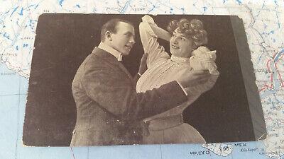 Gebraucht, Paar Tanz Wunderschön Liebe AK Postkarte 9290 gebraucht kaufen  Faustermühle