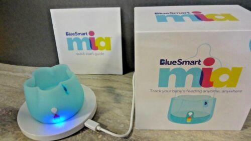 BlueSmart Mia Smart Baby Feeding Monitor Track & Analyze, Blue (RS394)