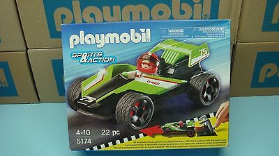 Playmobil 5174 Turbo Racer mint in Box car for collectors Geobra Toy