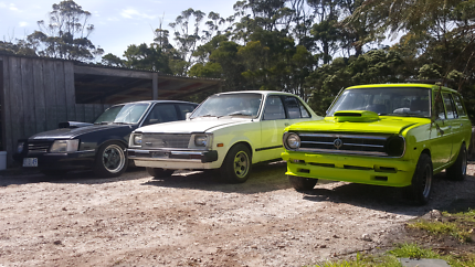 V8 vk, datsun 1200s and others!!