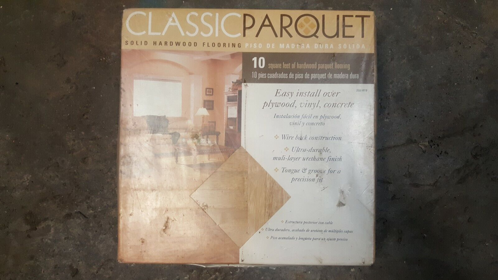 classic parquet one box 10 sq ft