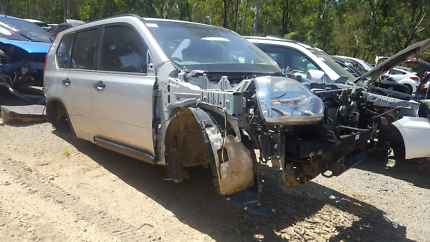 2009 NISSAN XTRAIL SILVER FOR WRECKING