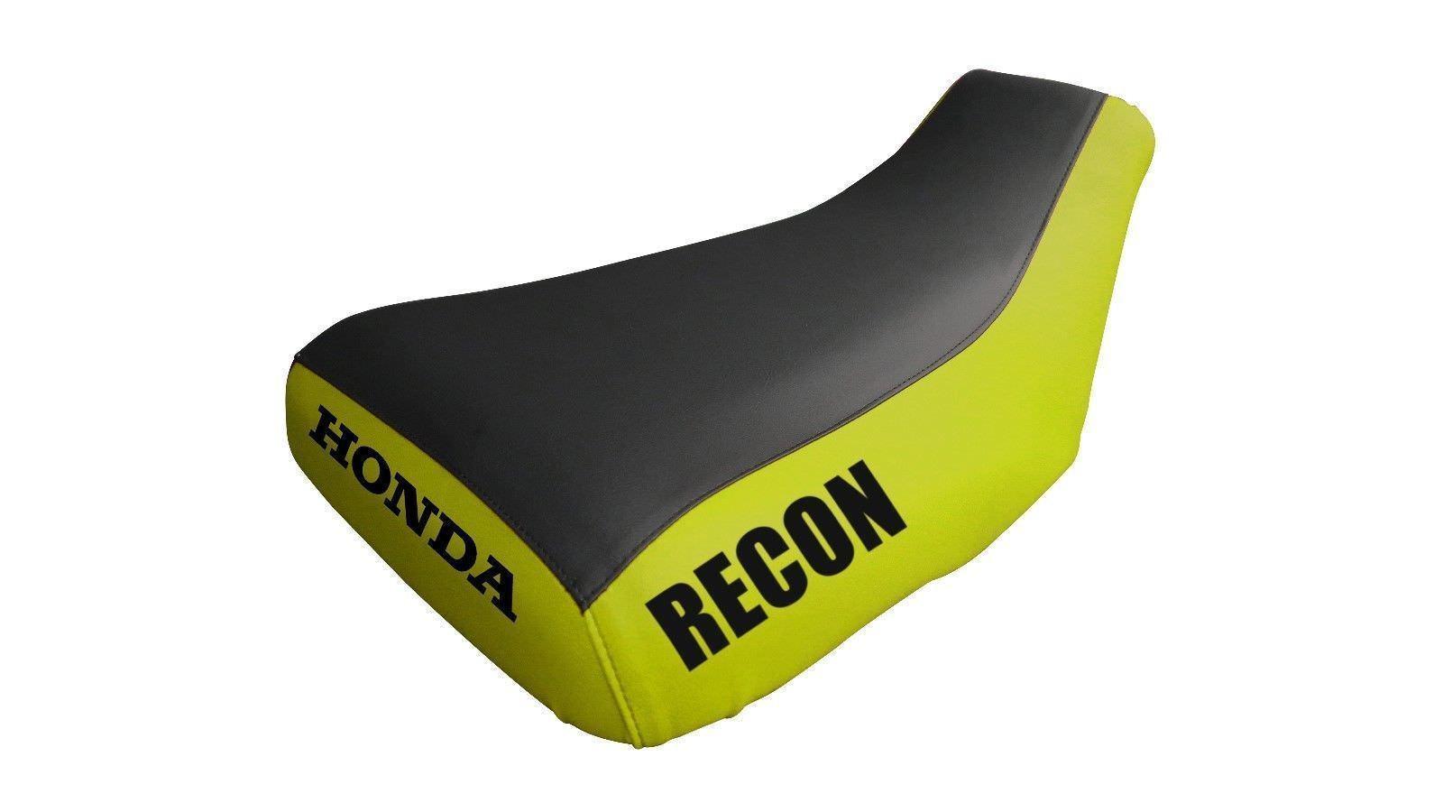 Honda Recon TRX250 2001-04 Logo Yellow Sides Seat Cover TG20181409