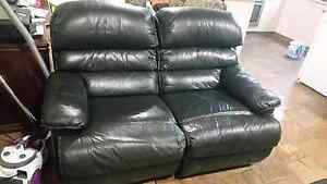 Leather recliners couch Upper Coomera Gold Coast North Preview