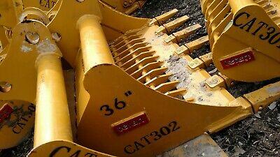 Heavy Duty Cat 302 36 Skeleton Digging Bucket 35mm Bobcat 331 325 328 E32