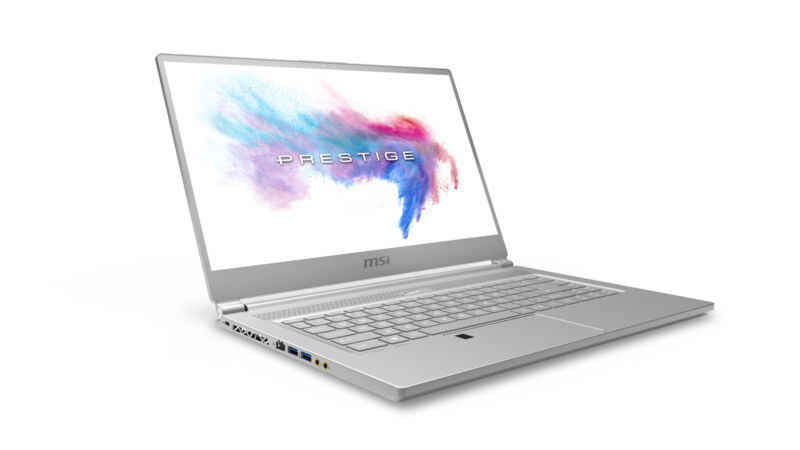 "MSI P65 8RE 15.6"" Gaming Laptop Intel Core i7 16GB Memory NVIDIA GeForce GTX 1060 512GB Solid State Drive Aluminum Silver P65 CREATOR 8RE-020"