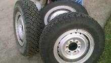 Toyota Hilux 4x4 rims and tyres Ryde Ryde Area Preview