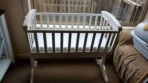 White wooden cradle/bassinet Lyndhurst Greater Dandenong Preview