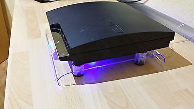 USB Design Kühler Lüfter 18cm Ständer passend für PS3 Playstation 3 Zubehör NEU