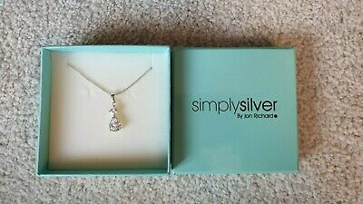 Jon Richard Simply Silver Necklace