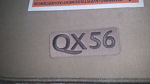 2009/2010 Infiniti QX56 Factory OEM Replacement Carpeted Floor Mats - Beige
