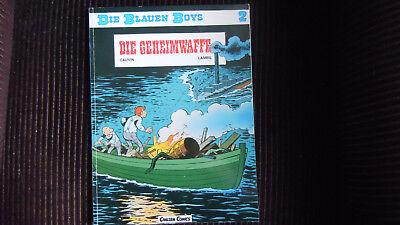 Die blauen Boys Nr 2,Die Geheimwaffe Carlsen 1. Aufl