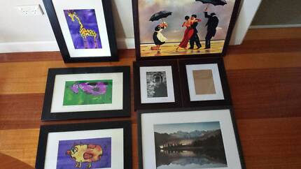 Assorted prints and frames Hampton East Bayside Area Preview