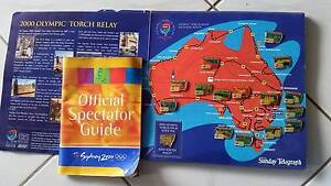 2000 Olympics Official Spectator Guide and badges Meadowbrook Logan Area Preview