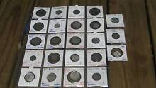 23 small silver coins from 17 countries, inc post (no offers) Baldivis Rockingham Area Preview