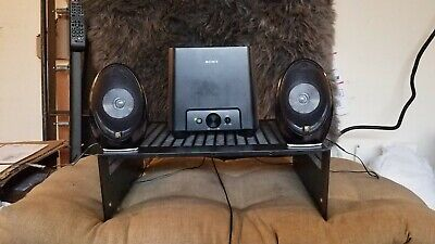 Sony Sub / Amp combo with upgraded Solid Metal Audiophile  KEF 1001.2 EGGs Metal Upgrade Combo