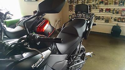 Long Luggage Rack and Backrest fits Kawasaki Versys 1000