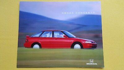 Honda Concerto 1.6i SE 1.5i 1.6i-16 car sales brochure catalogue SUPERB nr MINT