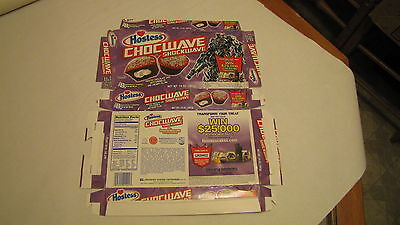 Hostess  Pre Bankruptcy Interstate Brands  Chocwave Shockwave Transformers Box