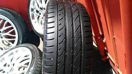 Commodore, Speedy Cheetah Wheels n Tyres, Suit VE
