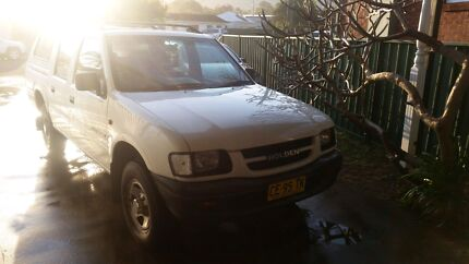 2001 Holden Rodeo 2WD V6 Auto Woonona Wollongong Area Preview