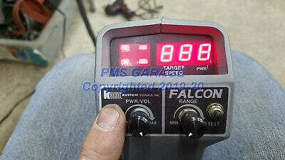 Kustom Falcon K-band Radar Gun In Excellent Condition Shown Working