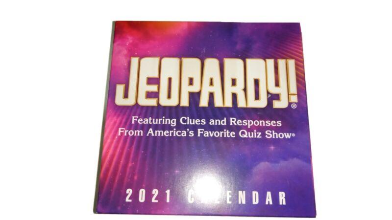 JEOPARDY 2021 DAILY DESK CALENDAR