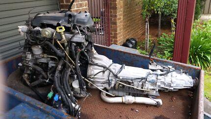 Holden Jackaroo Engine