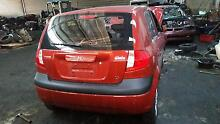 Wrecking 2010 Hyundai Getz Hatchback  1.6L in Red colour Sunshine Brimbank Area Preview