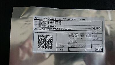 5x Pack - New Sealed - Microchipatmel Atsamd21g18a-aut Arm Microcontrollers