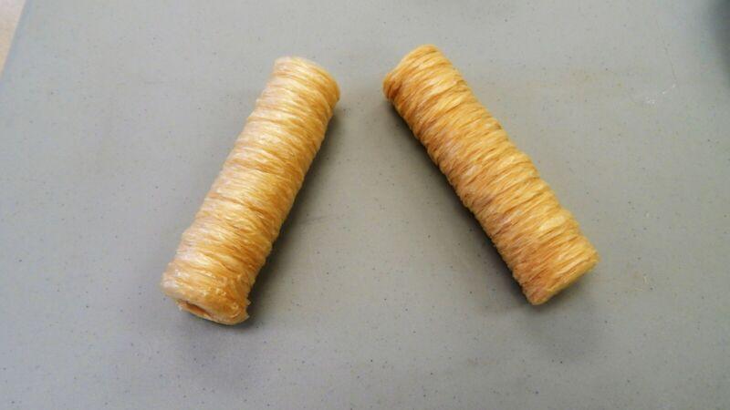 VEGETARIAN SAUSAGE CASINGS (VEGAN, HALAL), 32 mm / 2 HALF STRANDS