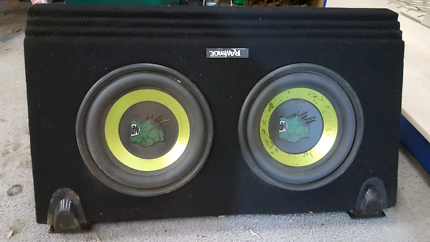 Subwoofer and amp