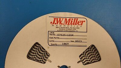 20 Pcs 07525-121k Jw Miller 120uh 10 Inductor Coil Filters