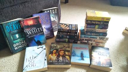 Mystery/Thriller paperback novels