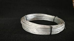 1x19 3/32 100' SNARE CABLE GALVANIZED AIRCRAFT SURVIVAL WIRE TRAPPING