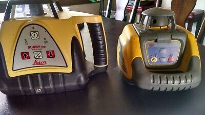 Spectra Ll100 And Leica Rugby 100 Rotary Laser Level