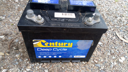 Century 75ah deep cycle 12v battery St Peters Marrickville Area Preview
