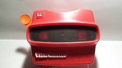 """View Master Viewer: Model """"L"""" Red Color - Cleaned and Tested Very Durable Nice"""