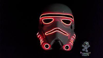 Handmade Halloween Costume (Star Wars RED Stormtrooper The Last Jedi Halloween Costume Rave Handmade)
